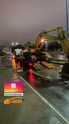Transporte de máquinas e equipamentos pesado - Foto 2