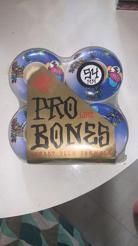 Roda Bones Skate - Foto 4