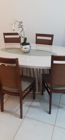 Conjunto mesa de jantar com 06 cadeiras - Foto 3