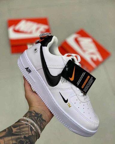 @ mandellashoes Tênis Nike Air Force Cano Curto Edição Limitada Promo 50% OFF ATÉ 12x - Foto 2