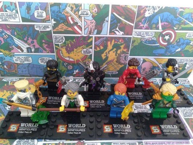 17 miniaturas Marvel, DC Comics e NinjaGO - Foto 6