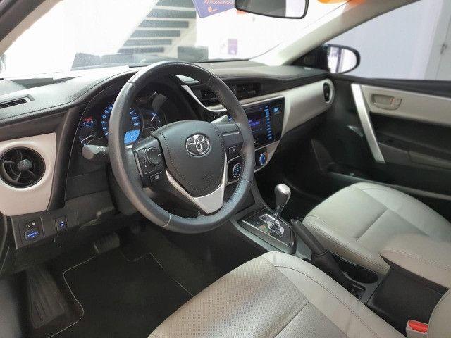 Toyota Corolla 2019 com garantia de fábrica, perícia cautelar aprovada e único dono - Foto 5