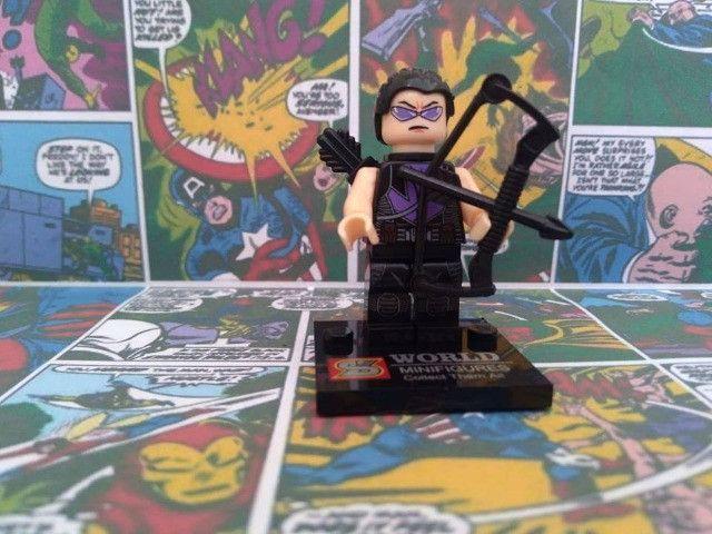 17 miniaturas Marvel, DC Comics e NinjaGO - Foto 2