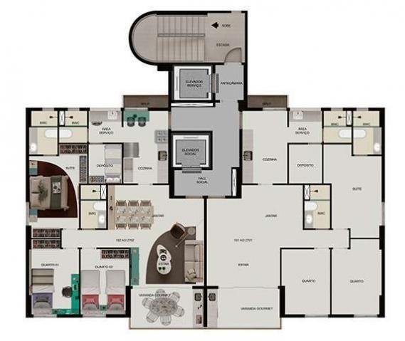 Apartamento 03 quartos em Boa Viagem - Foto 10