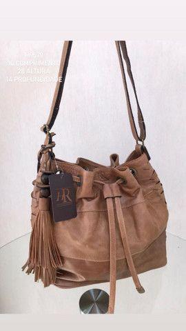 Bolsa em couro legítimo  - Foto 2