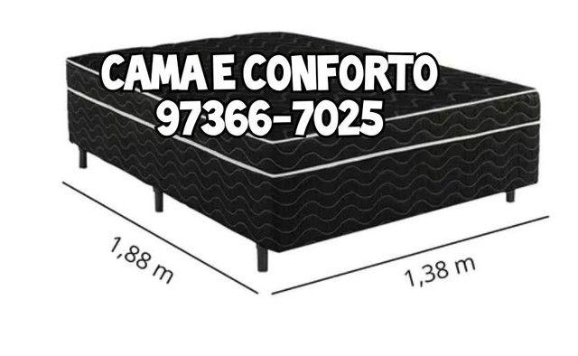 CAMA BOX ( ENTREGA GRÁTIS ) PAGAMENTO EM ATÉ 10 X. - Foto 4