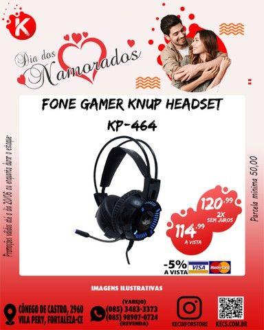 Fone Gamer Headset Knup KP 464