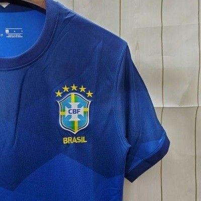 Camisa Brasil II 20/21 S/nº Azul  - Foto 3