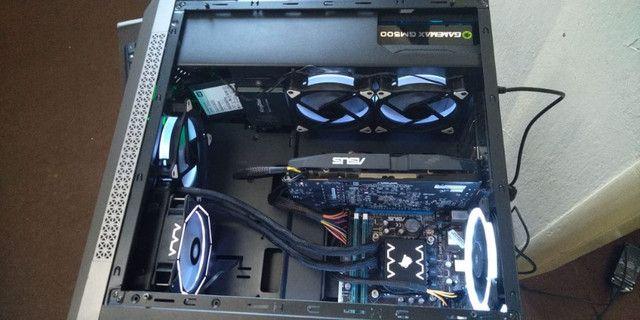 CPU Core i7-3.5ghz-HD 2TB-16gb RAM-4gb RX580-Gamer - Foto 6