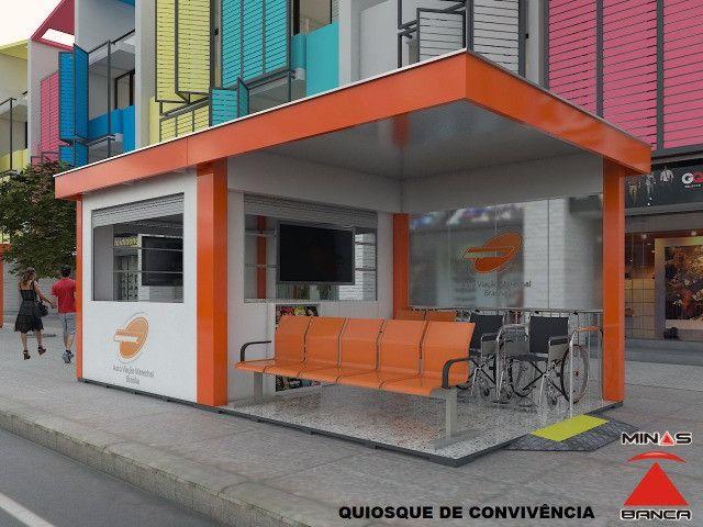 Mobiliario urbano - bancas e Quiosques- Fab- 31.3321.5082 - Foto 4