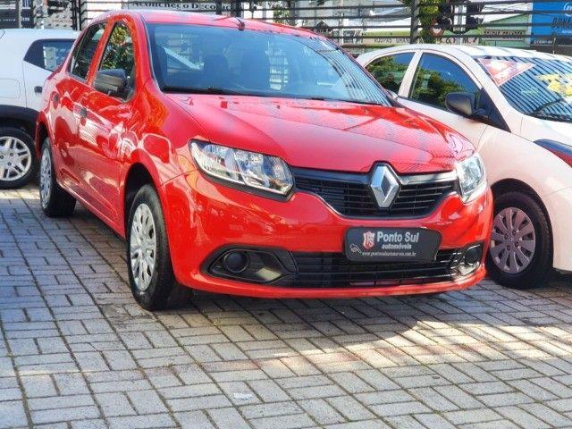 """Renault Logan Authentique 1.0 Flex """" Perfeito para Uber e 99 pop """"  - 2020 - Foto 2"""