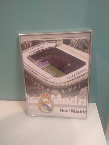 Quadro Real Madri Santiago Bernabéu - Foto 2