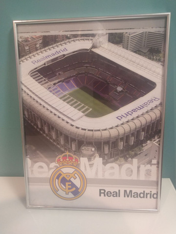 Quadro Real Madri Santiago Bernabéu - Foto 3