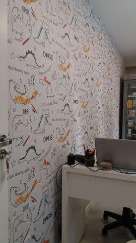 Instalação de papel de parede. - Foto 3