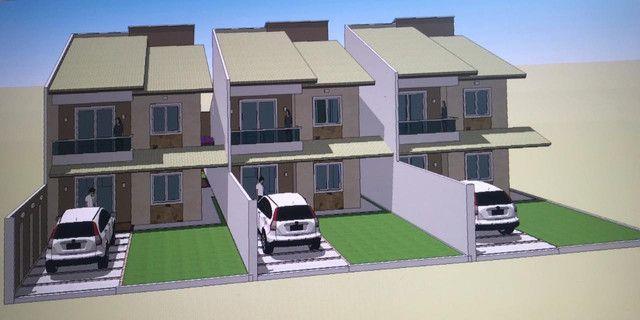 Duplex em construção no bairro Lagoa próximo ao centro de Paracuru