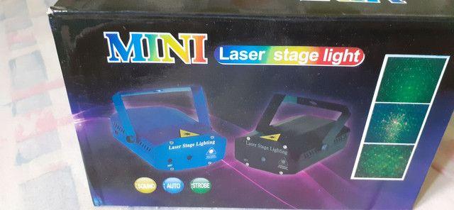 Mini laser para festas bivolt - Foto 2