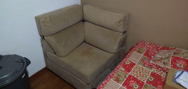 Estante home e sofá retrátil - Foto 4