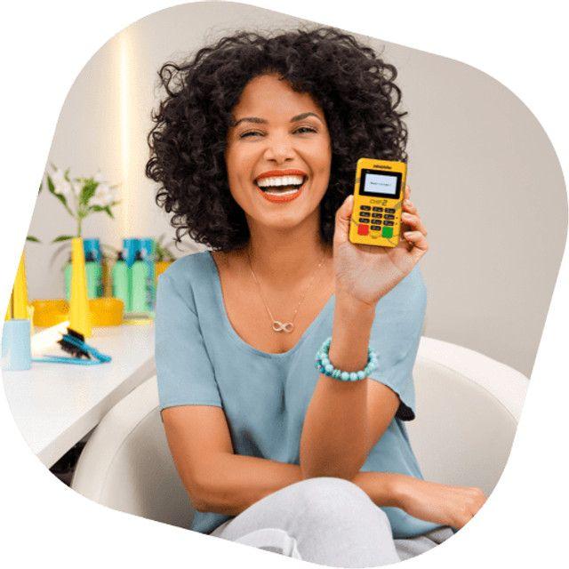 Vendo Máquina de Cartão PagSeguro - Minizinha Chip 2 - Foto 3