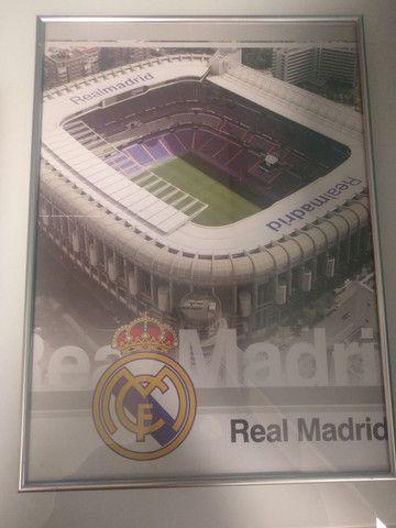 Quadro Real Madri Santiago Bernabéu - Foto 5