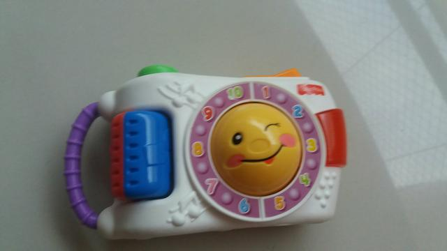 Camera de brinquedo fisher price