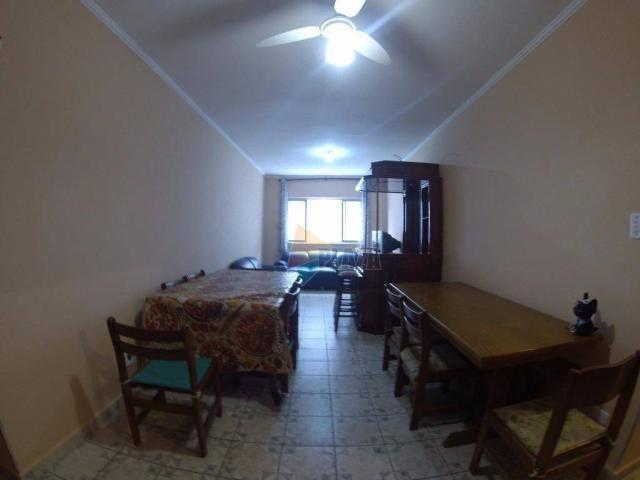 Apartamento para alugar, 90 m² por R$ 1.700,00/mês - Canto do Forte - Praia Grande/SP