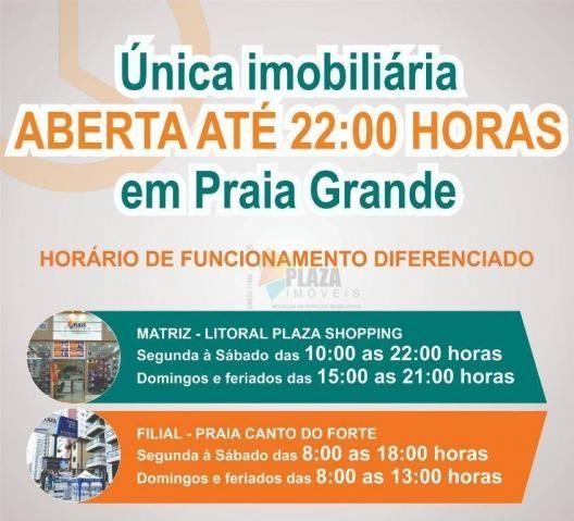 Apartamento com 2 dormitórios à venda, 83 m² por R$ 543.335,00 - Canto do Forte - Praia Gr - Foto 14