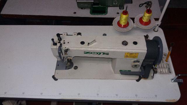 Máquina de Costura Zoje zj0302 Transp Duplo
