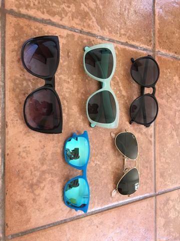 Óculos de sol variados