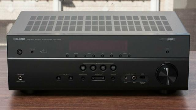 Receiver Yamaha rxv473, com defeito