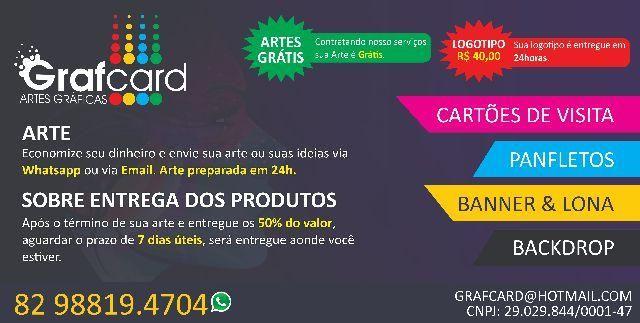 Grafcard - Gráfica Online - Cartão de Visita, Panfletos, Adesivos, Banner e outros