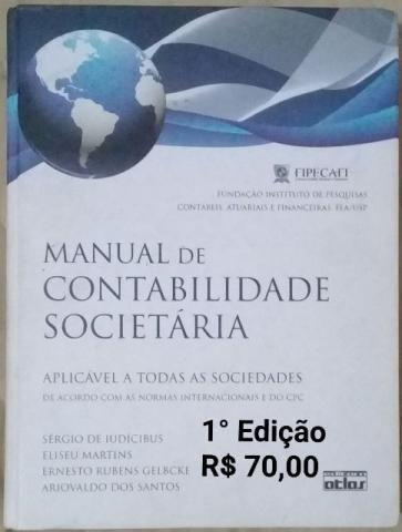 Manual de Contabilidade Societária (Fipecafi)