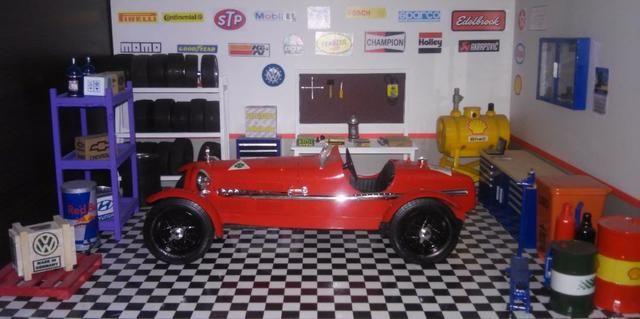 Alfa spider racing 1/18