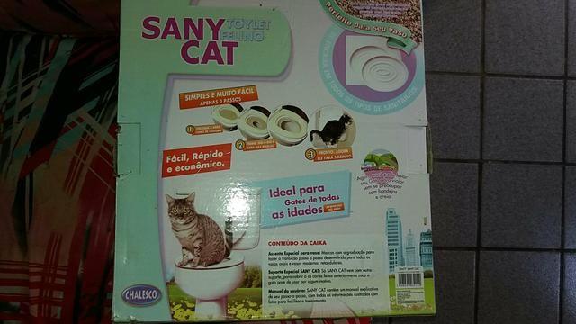 Vendo um toylet felino
