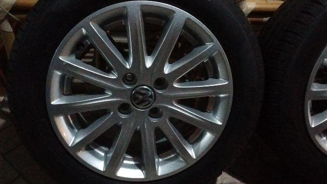 Jogo de rodas 15 pneus pirelli