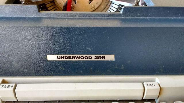 Maquina de Datilografia Underwood 2008