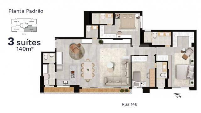 Apartamento à venda com 3 dormitórios em Setor marista, Goiânia cod:620888 - Foto 7