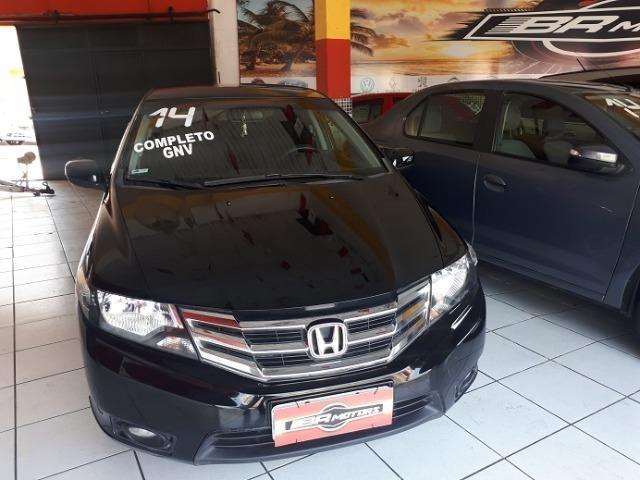 Honda City 2014/2014 LX Automático c/ GNV - Foto 3