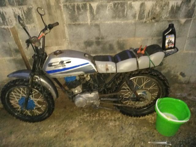 Honda cg 125cc pra trilha - Foto 4