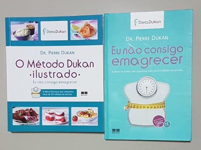 Eu Nao Consigo Emagrecer Dieta Dukan Perfeito Estado Livros E