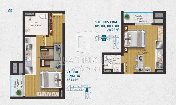 Duque 1128 - Apartamento em Lançamentos no bairro Fragata - Pelotas, RS - Foto 19