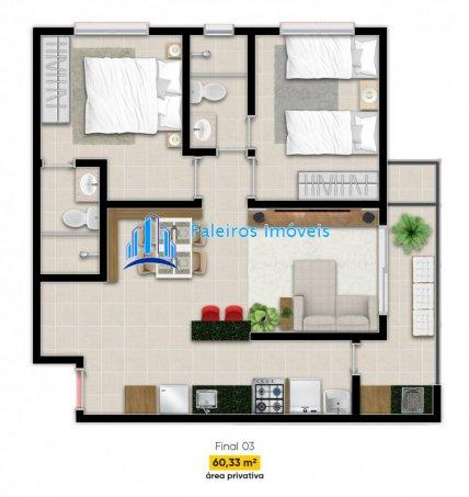Apartamento 2 dormitórios e Sacada Jardim Paulista - Apartamento em Lançamentos ... - Foto 18