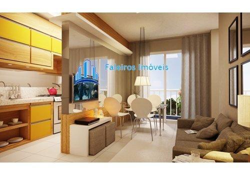Apartamento de 1 e 2 dormitórios , com sacada e lazer - Apartamento em Lançament... - Foto 8