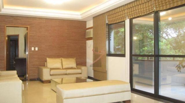 Apartamento com 4 dormitórios para alugar, 192 m² por R$ 3.300,00/mês - Edifício Maison Cl - Foto 3