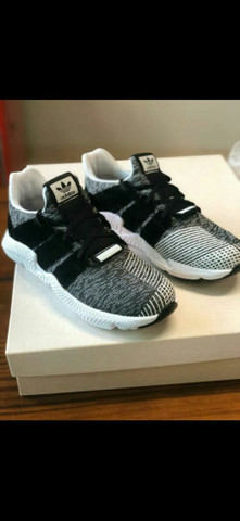 Tênis Adidas Prophare Grey White Black