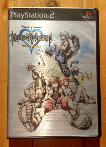 Kingdom Hearts Final Mix - PS2 - Japonês Original