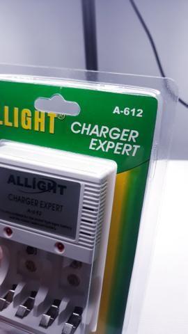 Carregador de Pilha média e pequena e Bateria - Foto 4