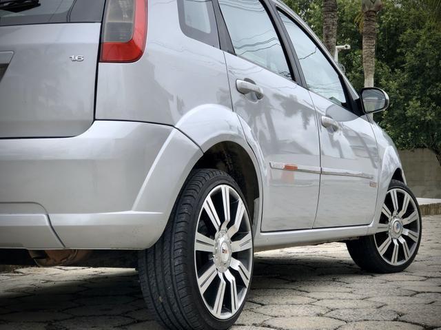 Fiesta 1.6 Class 2013 muito Novo!! Completo - Foto 7