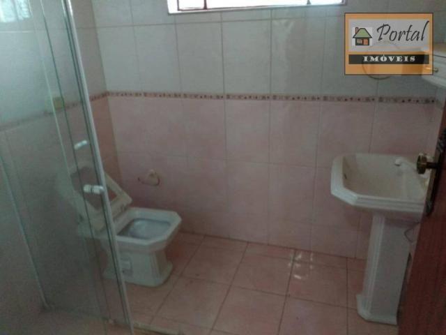 Chácara com 2 dormitórios para alugar, 250 m² por R$ 2.600/mês - Gramado Santa Rita - Camp - Foto 14