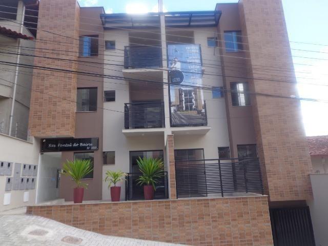 (J1) Apto de 2 quartos com varanda e garagem em uma das melhores ruas do Bairu