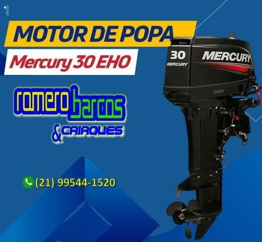 Motor 30 Hp Mercury 0km - Foto 2